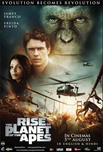 El origen del planeta de los simios (2011) [BRrip 1080p] [Latino – Ingles]