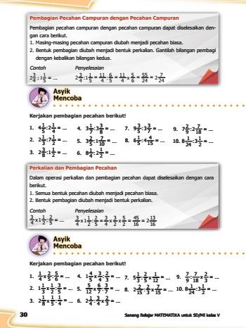 kunci jawaban buku matematika kelas 5 kurikulum 2013 revisi halaman 30