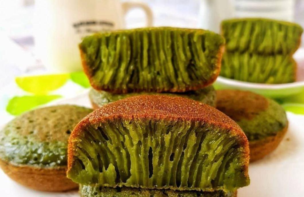 resep bika ambon green tea