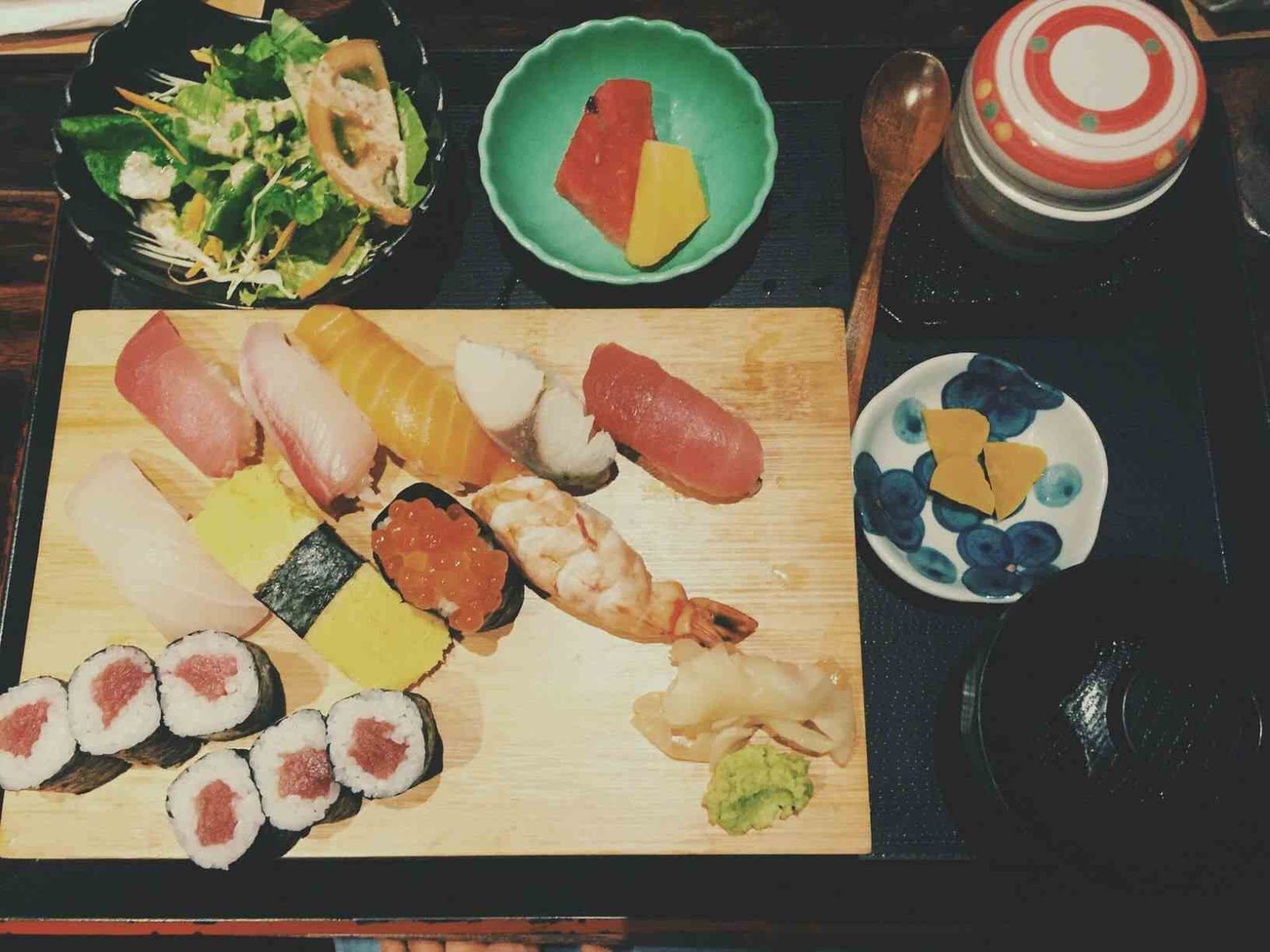Ogawa Traditional Japanese Restaurant's Nigiri Sushi Gozen