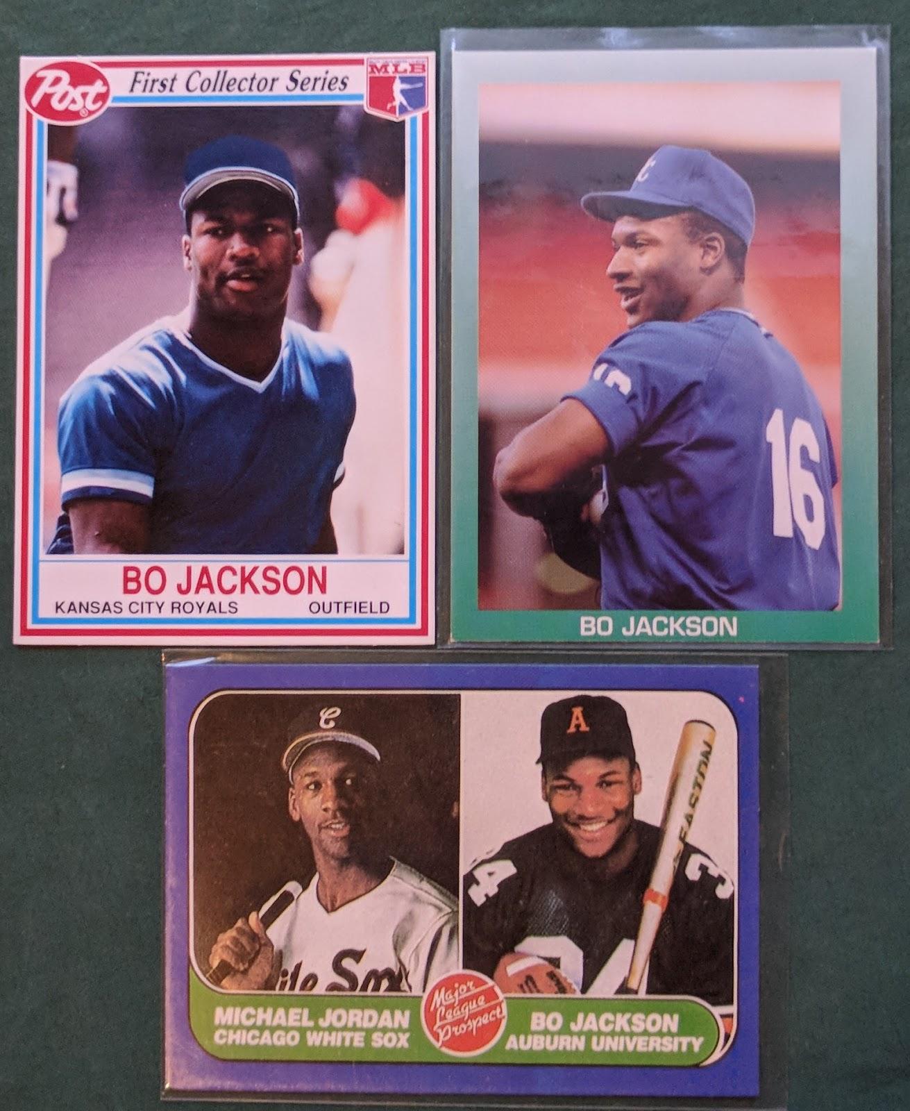 Bo Jackson Baseball Football Card Bk3
