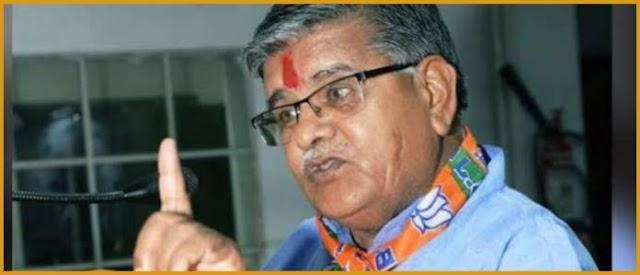 BJP नेता का दावा- भाजपा ने भगवान राम को दिया जीवनदान, बोले- हम न होते तो कहीं समुद्र में पड़े होते