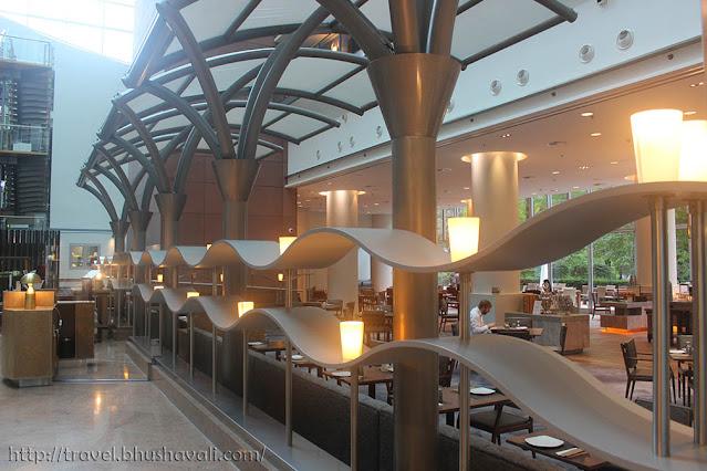 Hilton Frankfurt City Centre Review Lobby