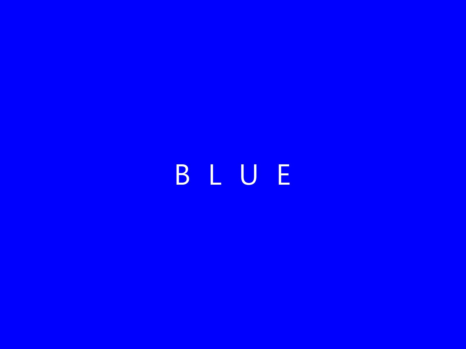 Blue color web trend.