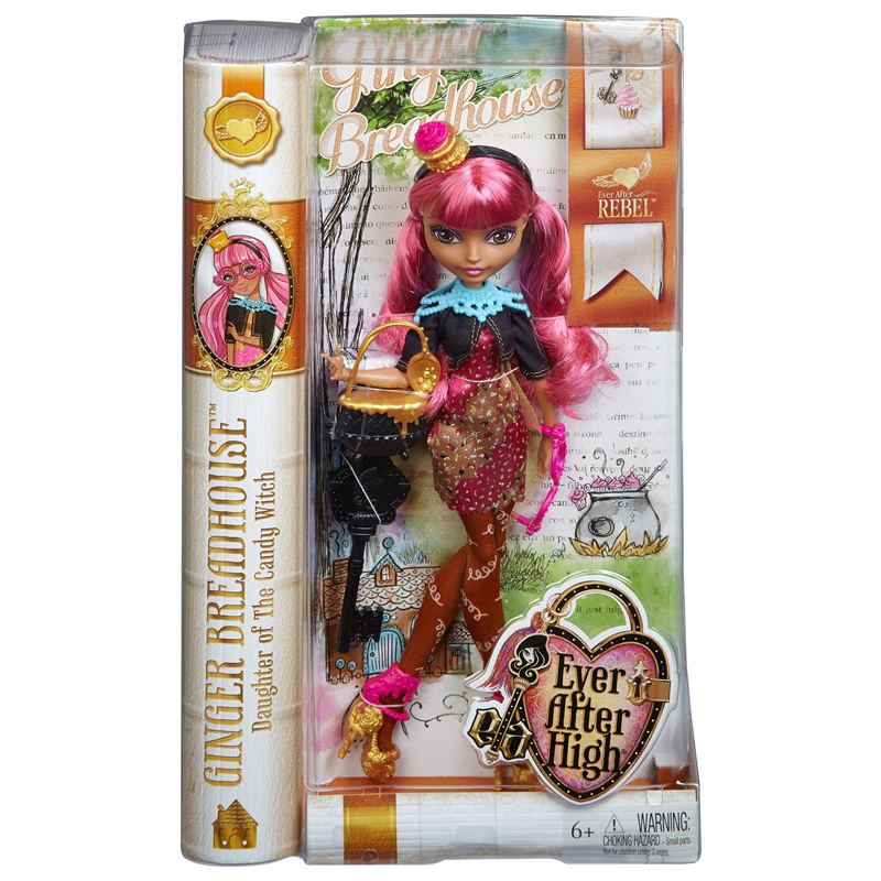 EAH Core Royals Rebels Ginger Breadhouse Doll