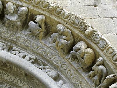 Iglesia de santa María la Mayor; Uncastillo; Cinco Villas; Aragón; Románico; Romanesque; Roman