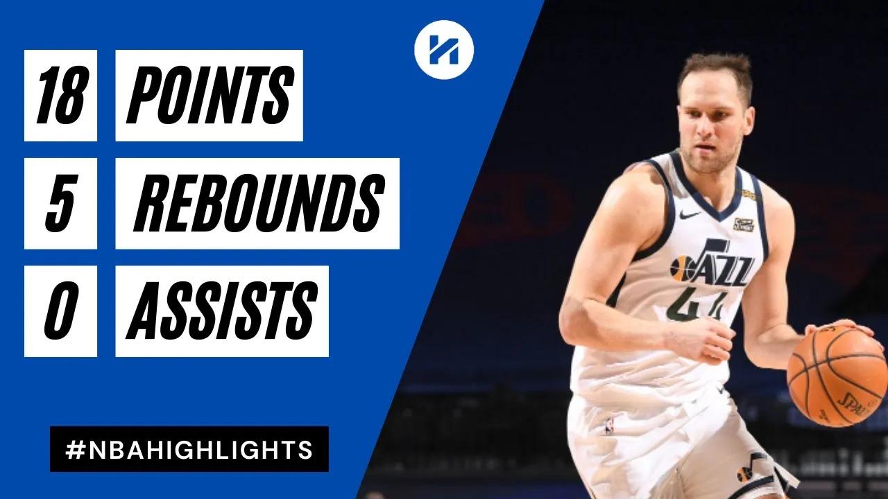Bojan Bogdanovic 18pts 5reb vs PHI   March 3, 2021   2020-21 NBA Season
