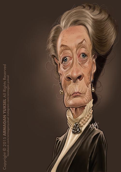 Maggie Smith por Armagan Yuksel