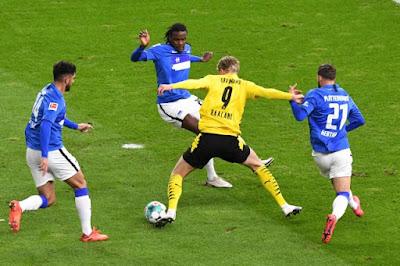 ملخص واهداف مباراة بروسيا دورتموند وهيرتا برلين (5-2) في الدورى الألمانى