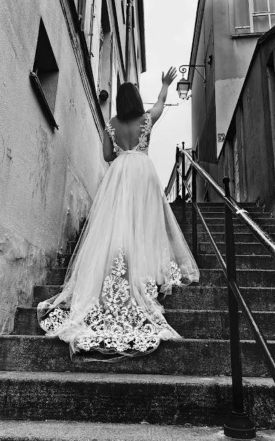 Robe de mariée princesse dos nu @ FANNY LIAUTARD