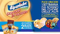 Logo Concorso ''Alpenliebe due cuori in vacanza'': vinci 1 settimana nel cuore delle Alpi