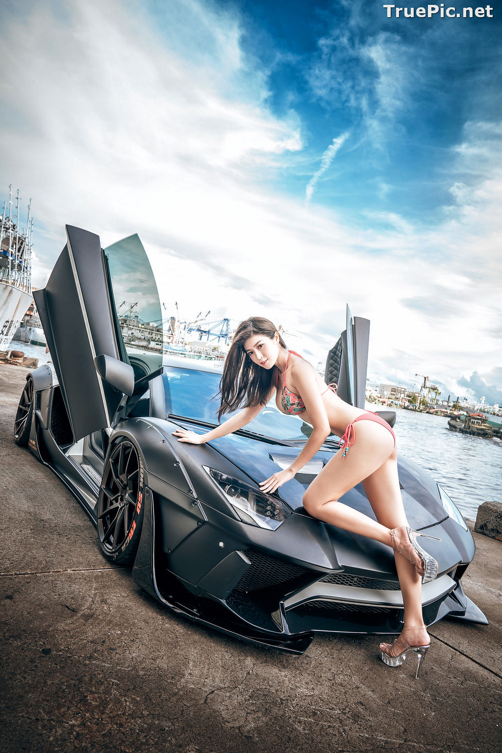 Image Taiwanese Model - 珈伊Femi - Sexy Beautiful Girl and Supercars - TruePic.net - Picture-8