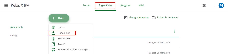 google classroom untuk guru dan siswa
