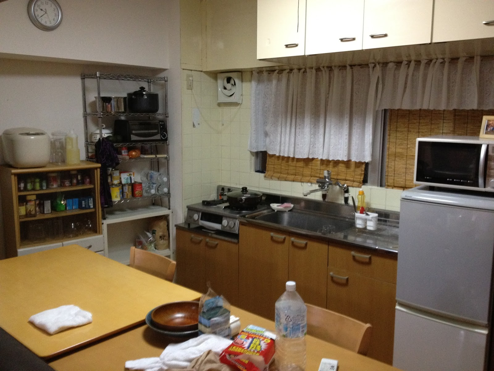 Nigel S Kitchen Comfortable Working Space And The Japanese Apartment