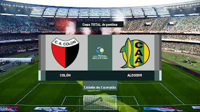 PES 2020 Scoreboard Copa Argentina by Lucasvillakapo