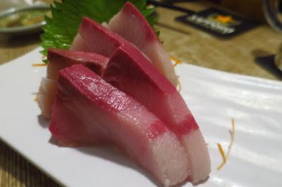Miz Japanese Restaurant, hamachi