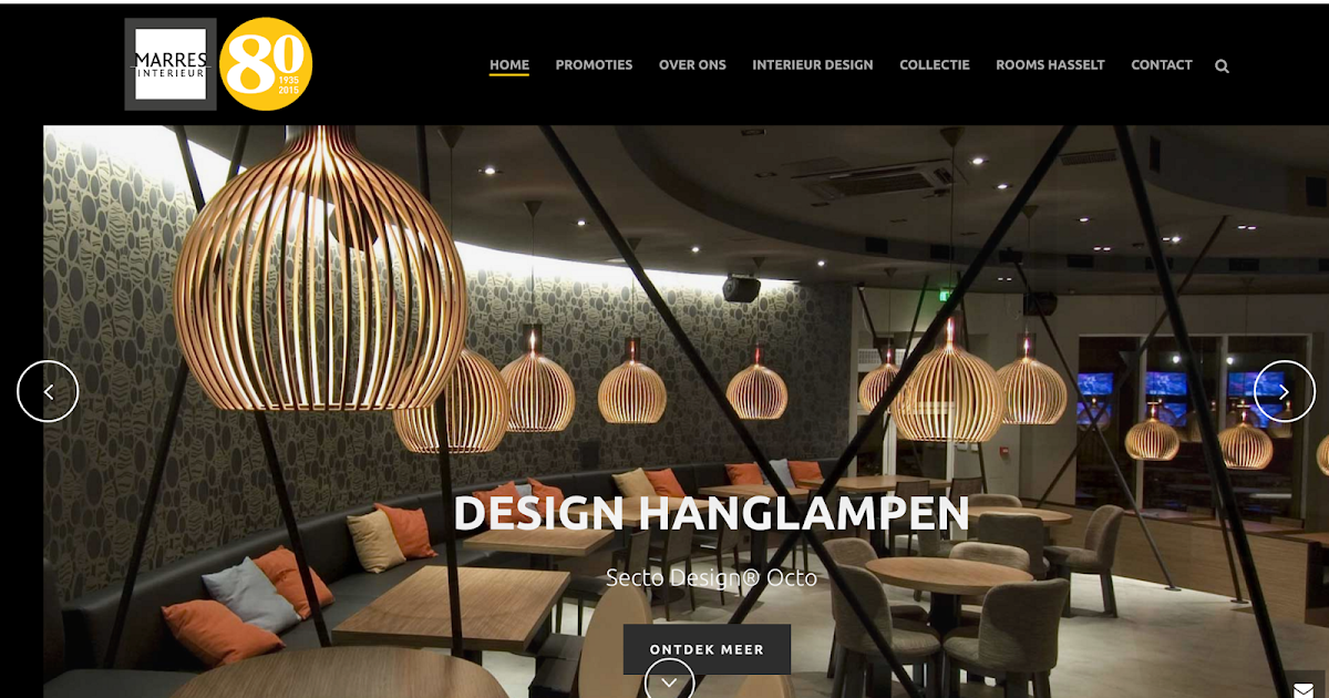 Marres interieur lanaken up to date webdesign for Interieur design opleiding hbo