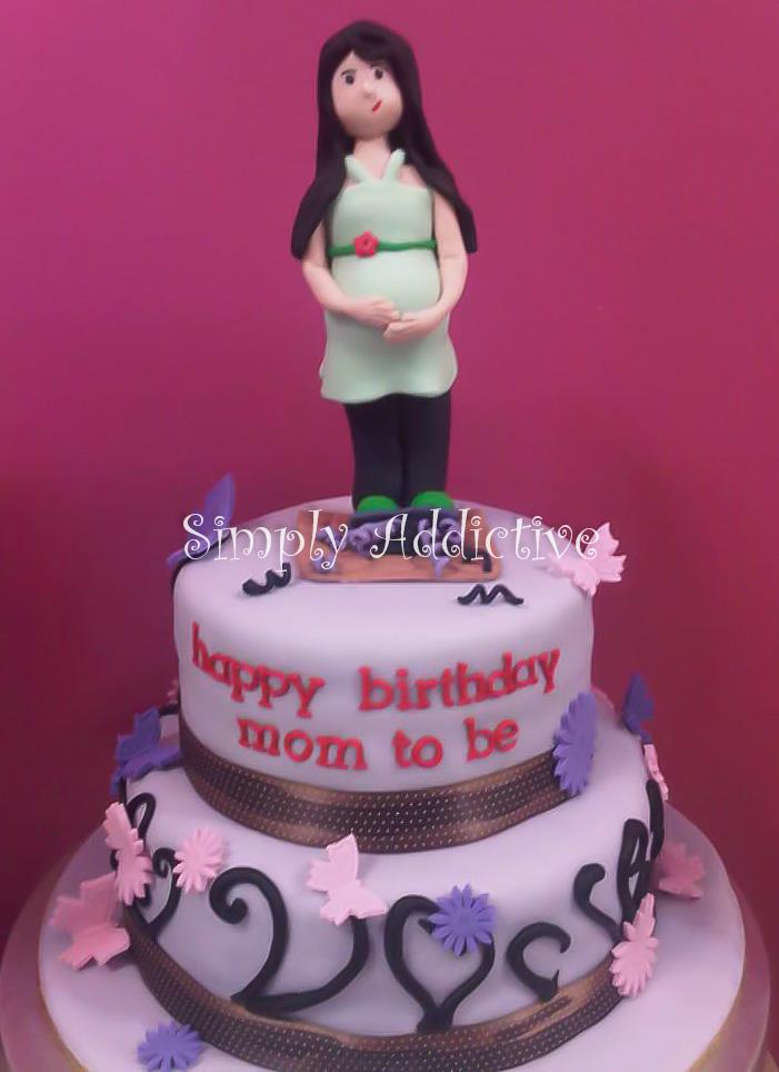 Simply Addictive Happy Birthday Mom To Be