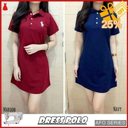 AFO383 Model Fashion Dress Polo Modis Murah BMGShop
