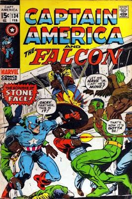 Captain America and the Falcon #134, Stone Face