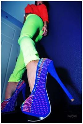Zapatos de tacon juveniles