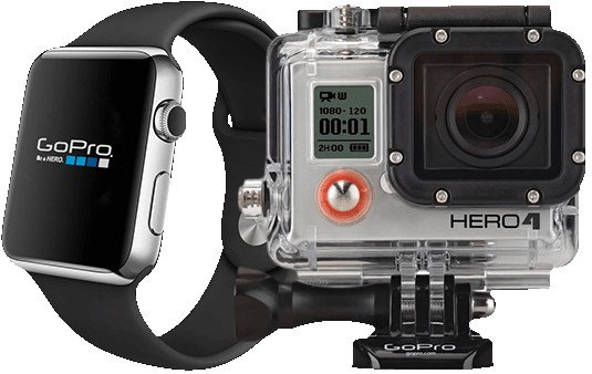 GoPro with Apple Watch