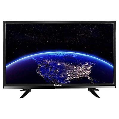 Dektron 60 cm (24 Inches) HD Ready LED TV DK2499HDR (Black) (2019 Model)