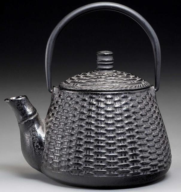 a Japan metal teapot photograph 1890s