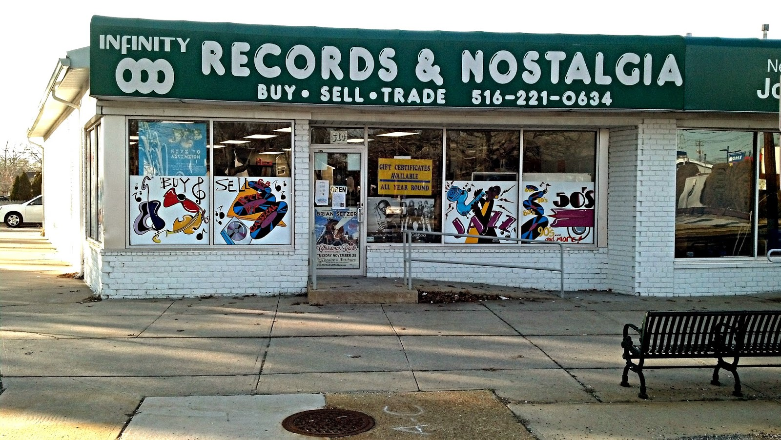 Infinity Records - Massapequa Long Island - Store Front