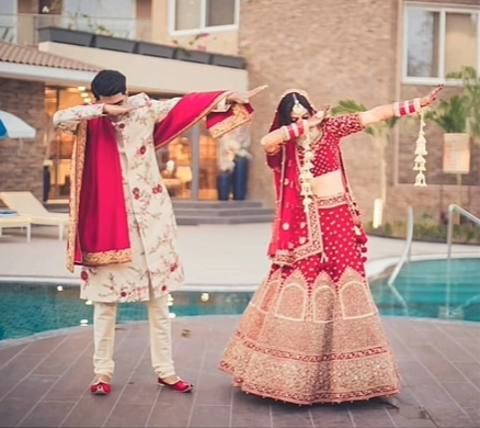 Marriage Photography poses For Bride And Groom