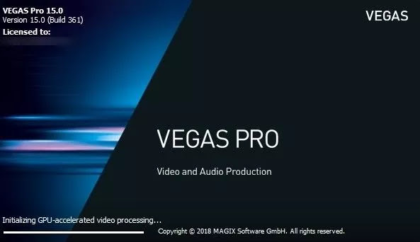 Sony Vegas Pro Software Editing