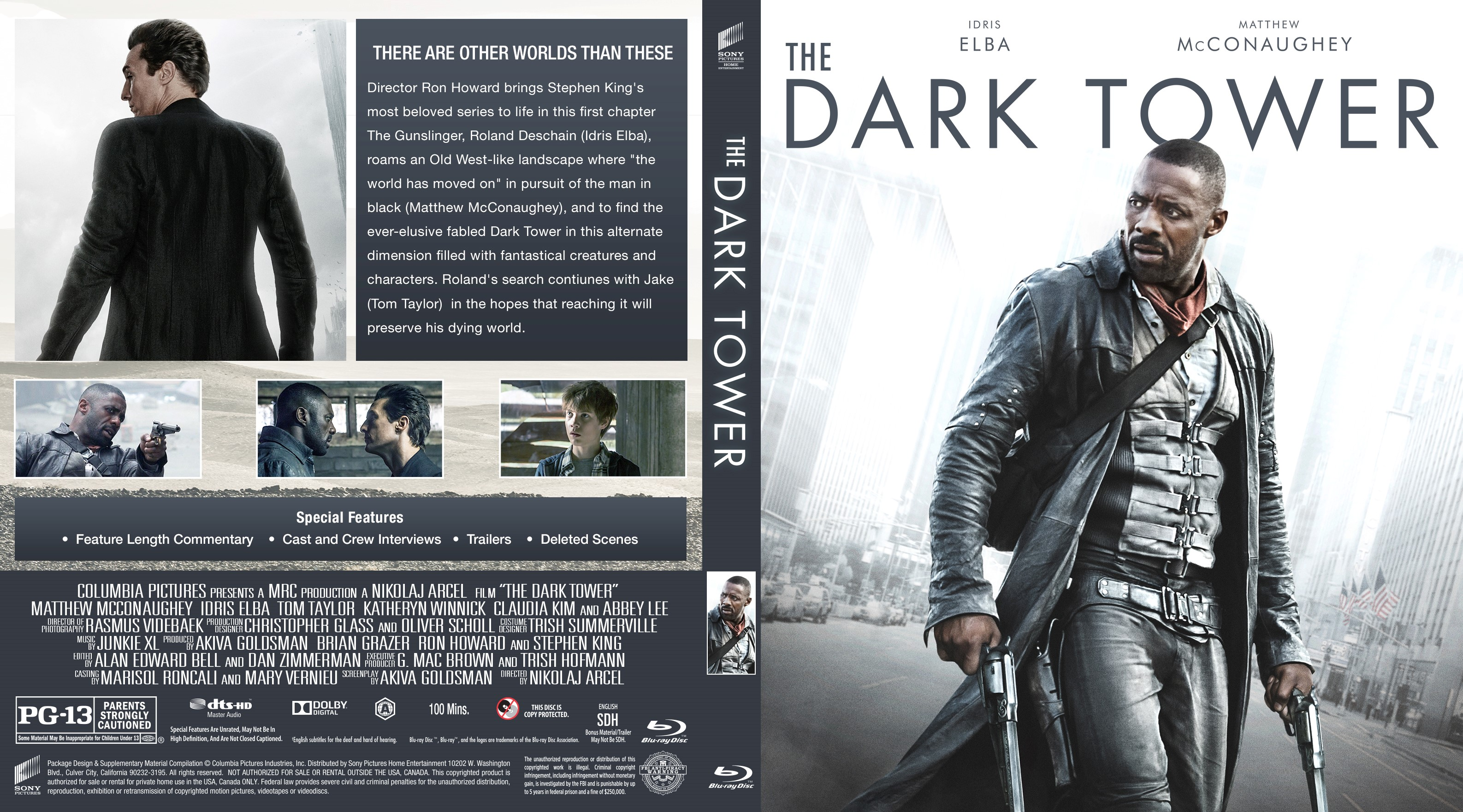 the dark tower bluray cover