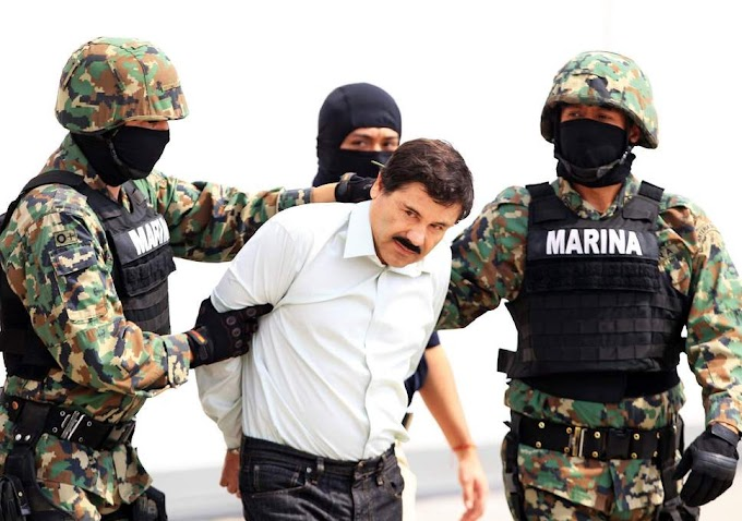 """Mexican drug lord  Joaquín """"El Chapo"""" Guzmán found guilty on all counts, faces life in prison"""