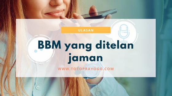 bbm blackberry messenger ditinggalkan penggunanya karena sepi