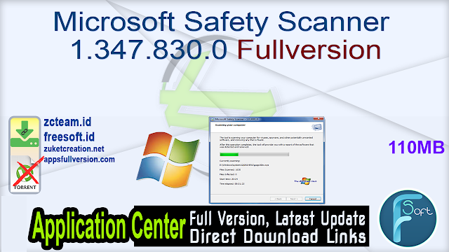 Microsoft Safety Scanner 1.347.830.0 Fullversion