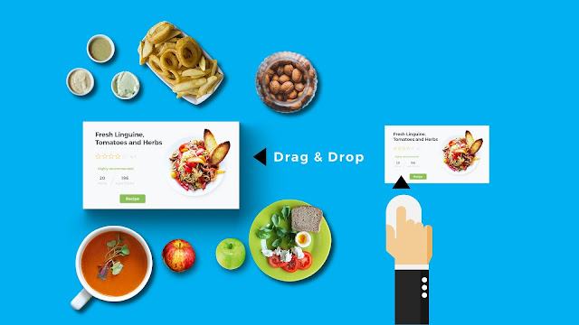 How to add images into image placeholder with free infographic PowerPoint Template