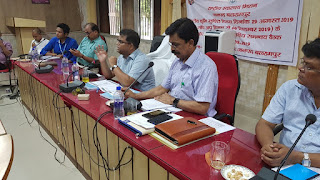 जिला स्वास्थ्य समिति की बैठक जिलाधिकारी की अध्यक्षता मे संपन्न