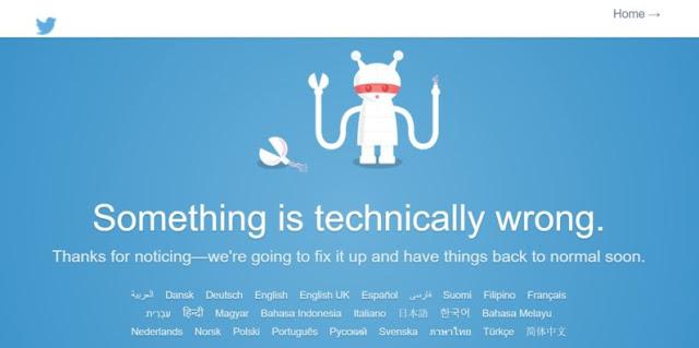 twitter down, twitter ຫຼົ້ມ,  ຂ່າວໄອທີ, ສາລະໄອທີ, ອັບເດດໄອທີ, ຮອບຮູ້ເລື່ອງໄອທີ