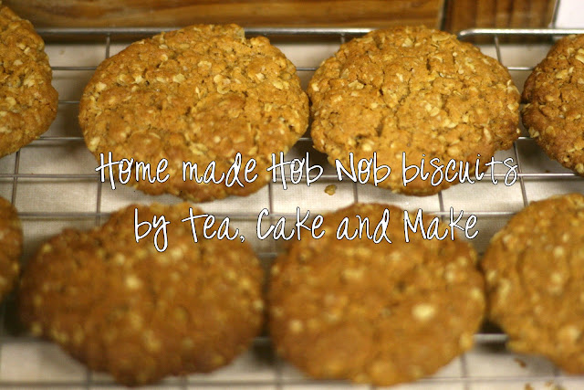 Home Made Vegan Hob Nob Biscuits 1