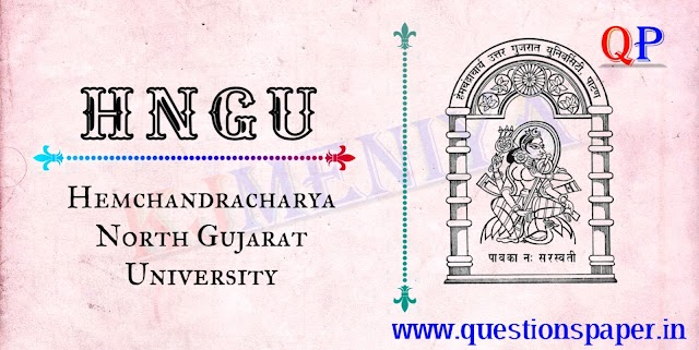 HNGU Junior Clerk Question Paper | Official Final Answer Key (22-12-2019)