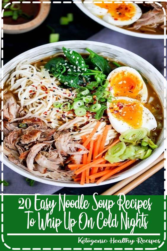 If you thought carnitas were just for tacos 20 Easy Noodle Soup Recipes To Whip Up On Cold Nights