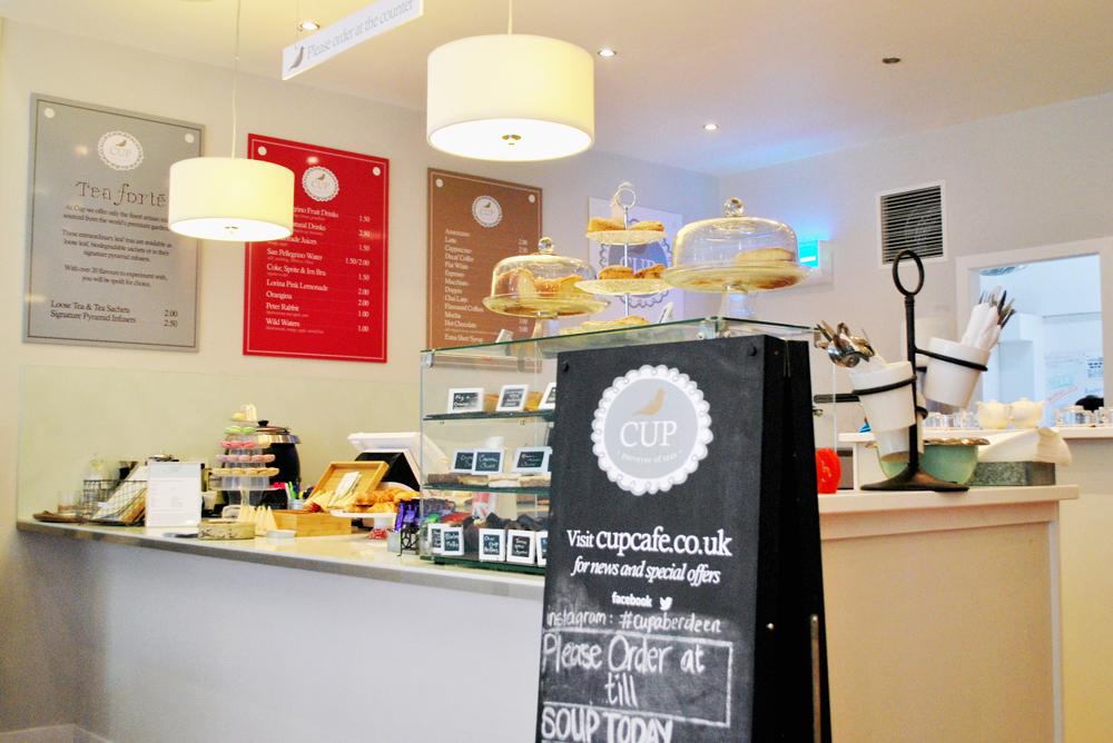 Cup cafe Aberdeen