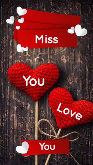 love you miss you wallpaper download
