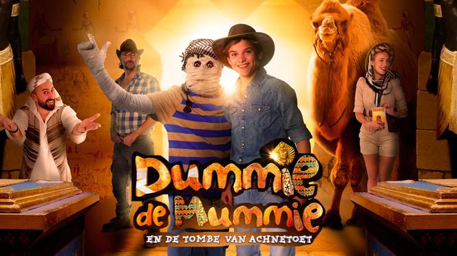 La Momia Dummie, y la Tumba de Achne (2017) BRRip 1080p Latino