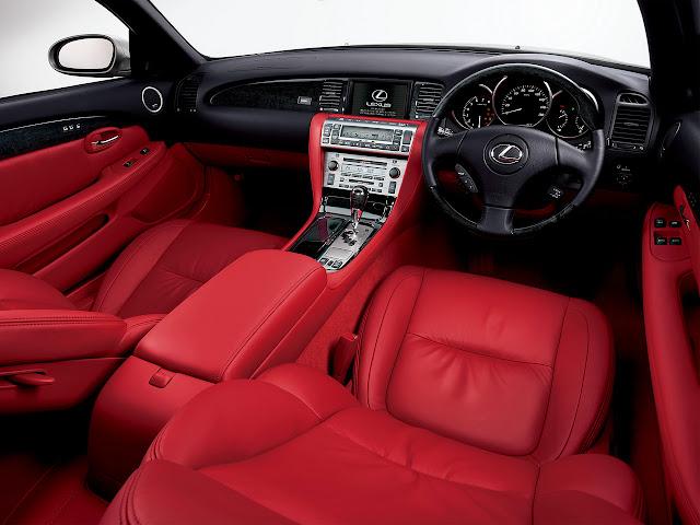 Lexus SC430, Toyota Soarer Z40, luksusowy kabriolet