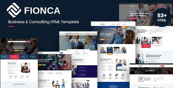 Best Business and Finance HTML Template