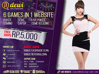 Agen Judi Domino Online Server IDN PLAY QDewi.net