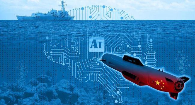 Ilustrasi kapal selam tanpa awak China