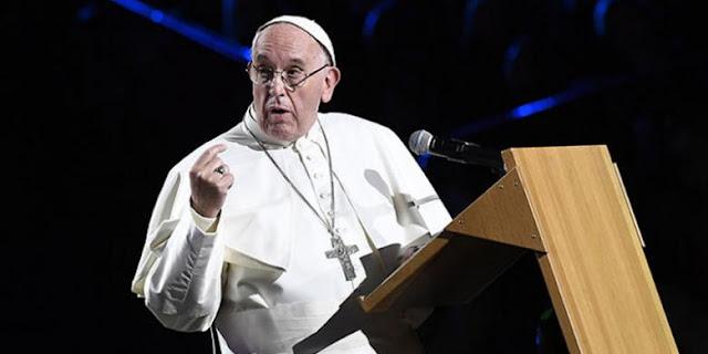 Kritik Umatnya, Paus Fransiskus Berujar 'Lebih Baik Jadi Atheis, daripada Katolik Bermuka Dua'