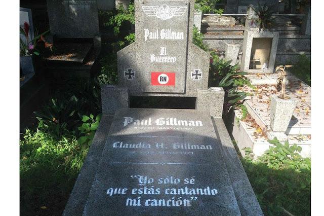Paul Gillman se mandó a hacer una tumba personalizada en Naguanagua